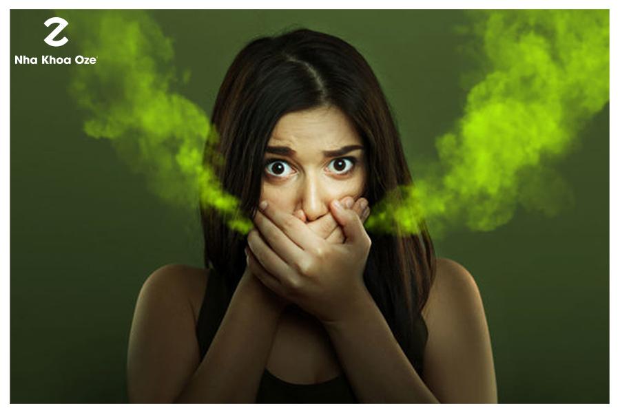 Hôi miệng gây trở ngại rất lớn cho người mắc phải trong giao tiếp