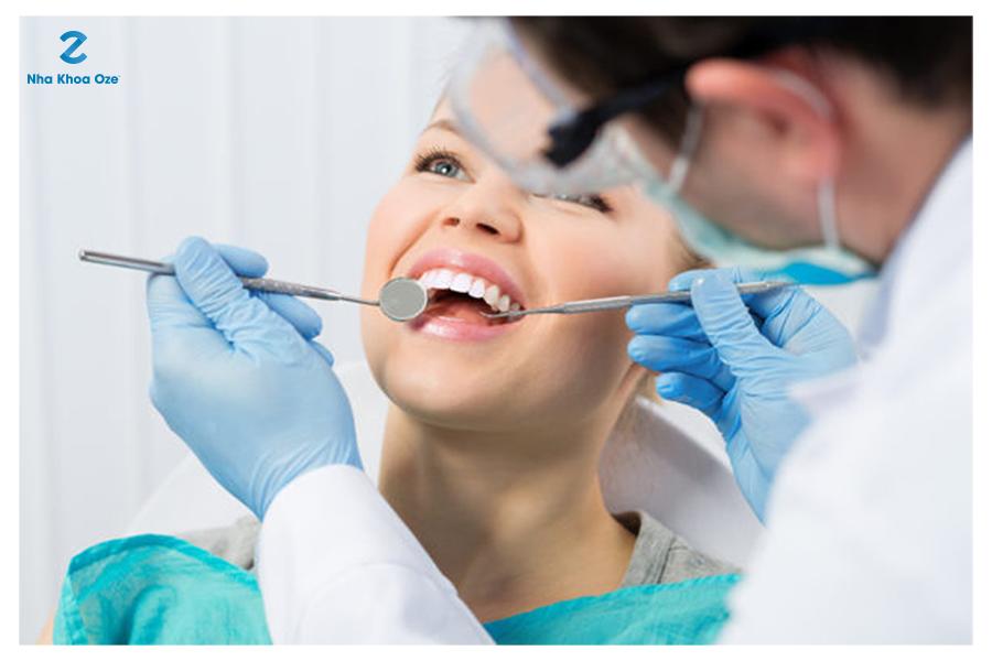Hãy đến các phòng khám nha khoa có uy tín để có biện pháp chữa trị dứt điểm tình trạng hôi miệng một cách nhanh chóng và an toàn