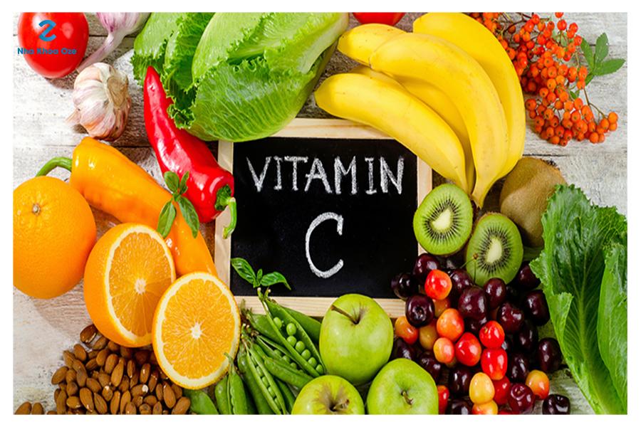 Bổ sung các chất như vitamin C, vitamin K