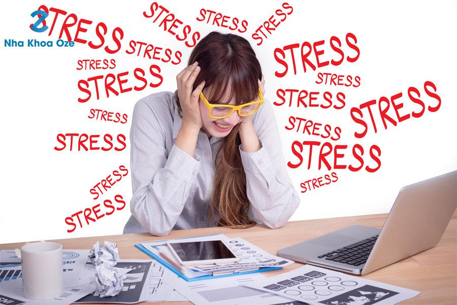 Hạn chế làm việc và stress