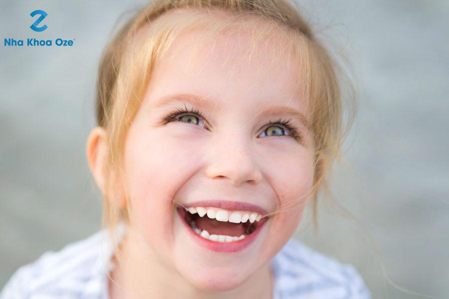 Chăm sóc khi bé trong giai đoạn thay răng