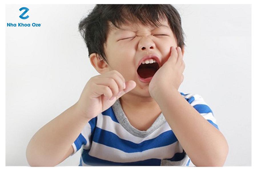 Đau răng do răng sâu luôn là nỗi ám ảnh của trẻ