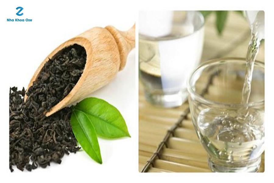 Lá trà xanh cũng có tác dụng giảm đau răng hiệu quả
