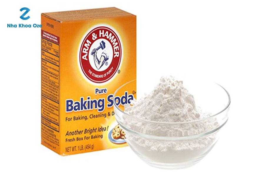 Baking soda giúp loại sạch cao răng ngay tại nhà
