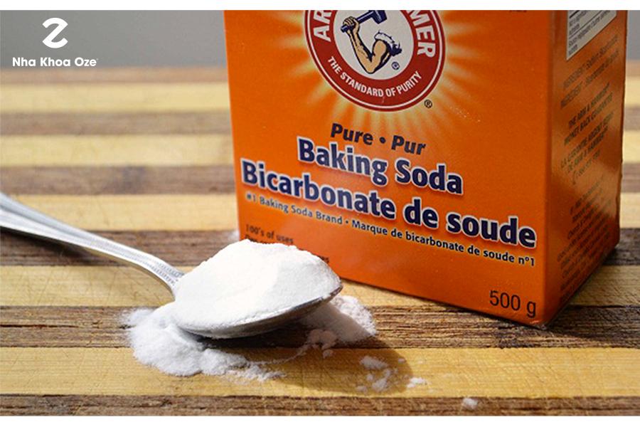 Ảnh minh họa cách chữa nhiệt miệng bằng baking soda