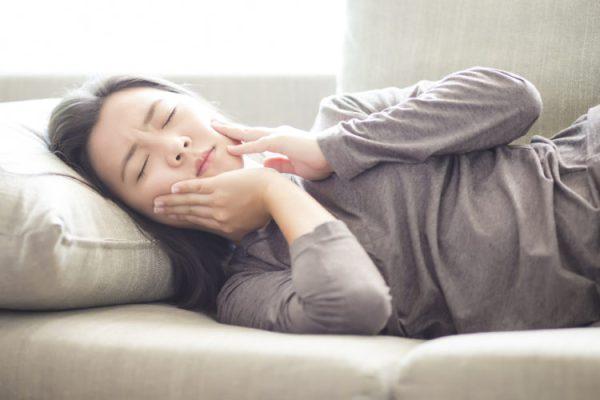 Ảnh minh họa tác hại của nghiến răng khi ngủ