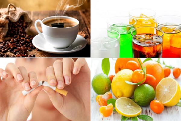 Các thực phẩm nên tránh sau khi nhổ răng khôn