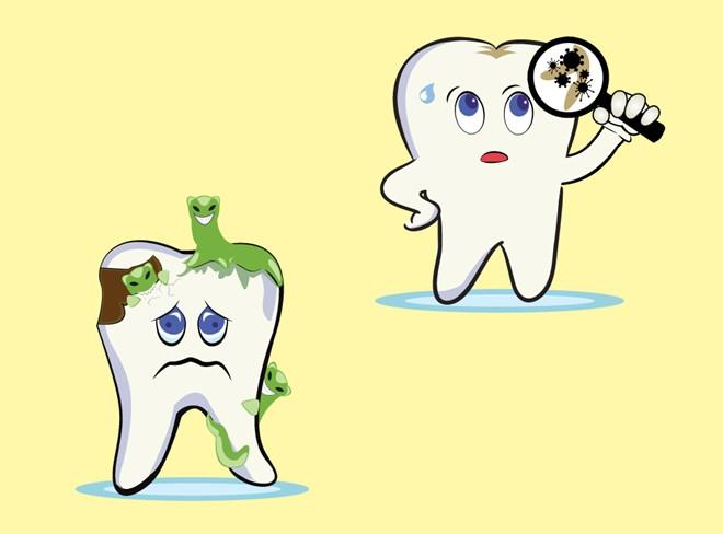 Điều trị sâu răng bằng florua