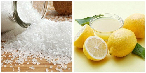 Muối và chanh giúp loại bỏ mảng bám và đem lại hơi thở thơm mát