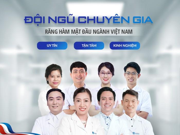 Nha khoa sở hữu nhiều bác sĩ là chuyên gia đầu ngành