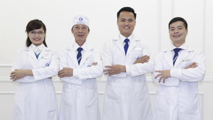 Sở hữu đội ngũ bác sĩ có chuyên môn cao, tay nghề giỏi